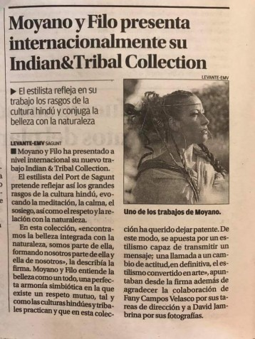 Presentación Indian&Tribal Collection
